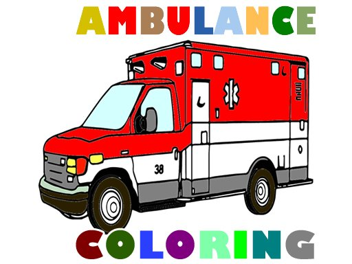 Play Ambulance Trucks Coloring Pages Now!