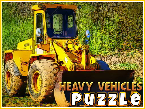 Play Heavy Vehicles Puzzle Now!
