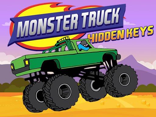 Play Monster Truck Hidden Keys Now!