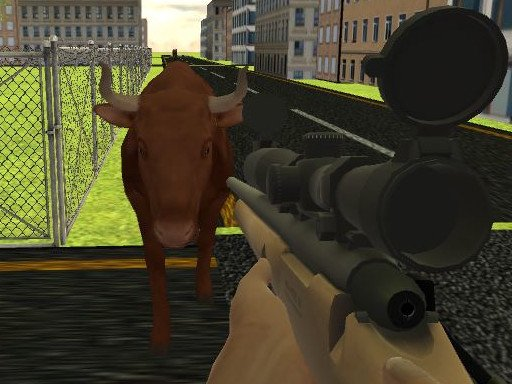 Play Angry Bull Shooter Now!