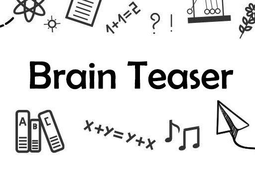 Play Brain Teaser Now!