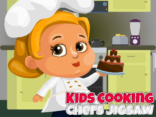 Play Kids Cooking Chefs Jigsaw Now!