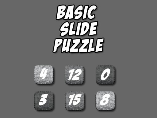 Play Classic Slide Puzzle Now!