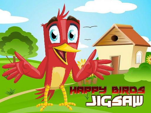 Play Happy Birds Jigsaw Now!