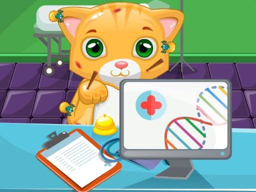 Play Cat Doctor Sim Now!