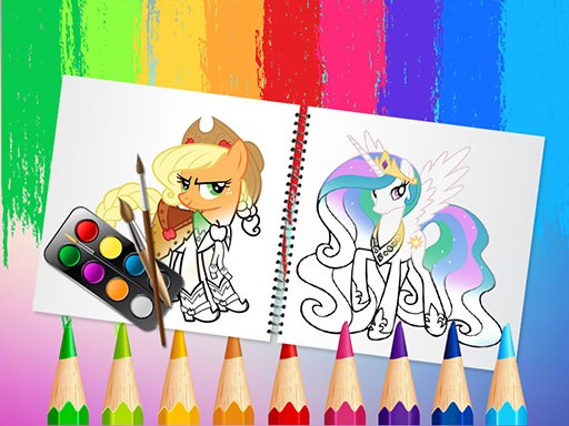 Play Sweet Pony Coloring Book Now!