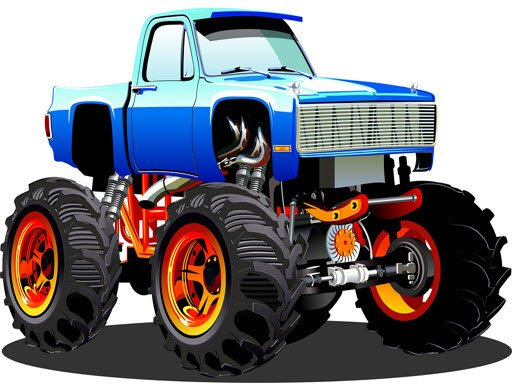 Play Monster Truck Puzzle Now!