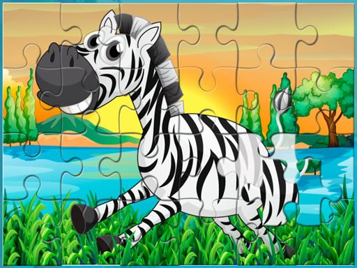 Play Happy Animals Jigsaw Game  Now!
