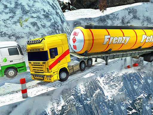 Play Extreme Winter Oil Tanker Truck Drive Now!