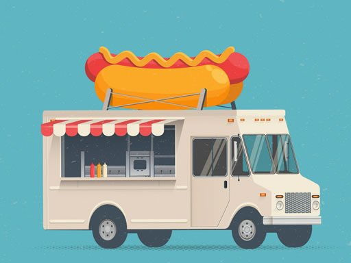 Play Food Trucks Jigsaw Now!