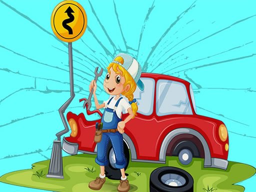 Play Broken Cars Jigsaw Now!