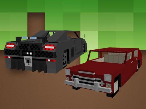 Play Minecraft Cars Jigsaw Now!