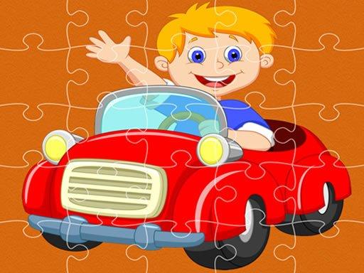 Play Pedal Cars Jigsaw Now!