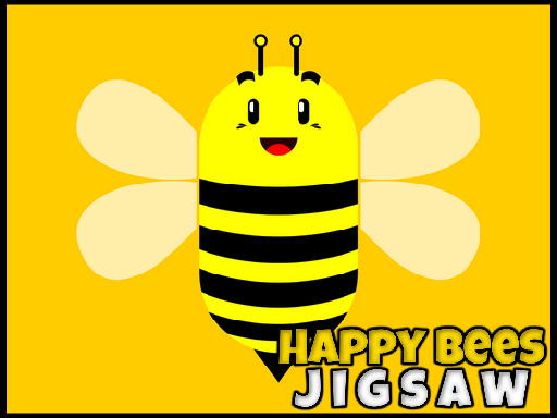 Play Happy Bees Jigsaw Now!