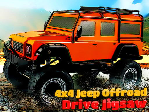 Play 4x4 Jeep Offroad Drive Jigsaw Now!