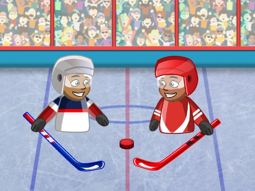 Play Puppet Hockey Battle Now!