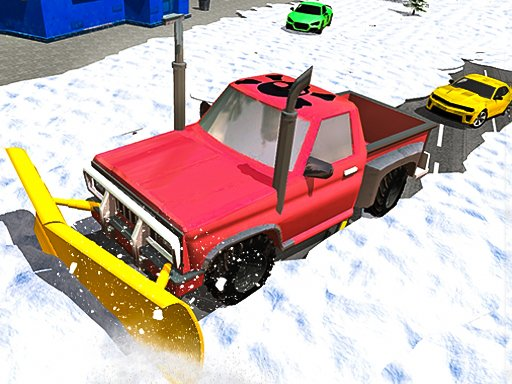 Play Snow Plow Jeep Simulator 3D Now!