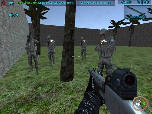Play Survival Wave Zombie Multiplayer Now!