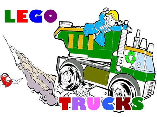 Play Lego Trucks Coloring Now!
