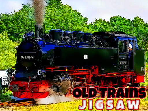 Play Old Trains Jigsaw Now!
