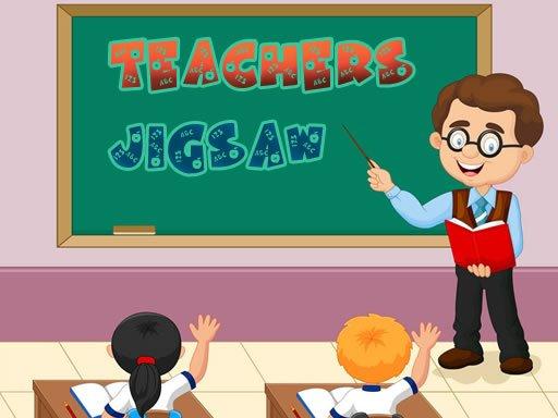 Play Teachers Jigsaw Game Now!