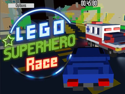 Play Lego Superhero Race Now!