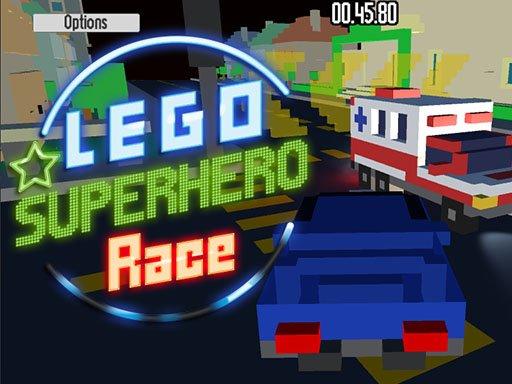 Play Lego Superhero Race Now!