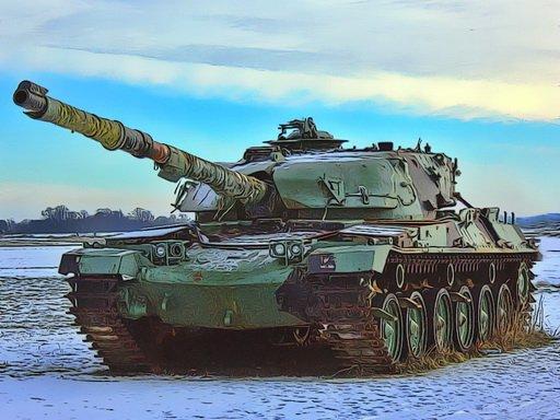 Play Military Tanks Jigsaw Now!