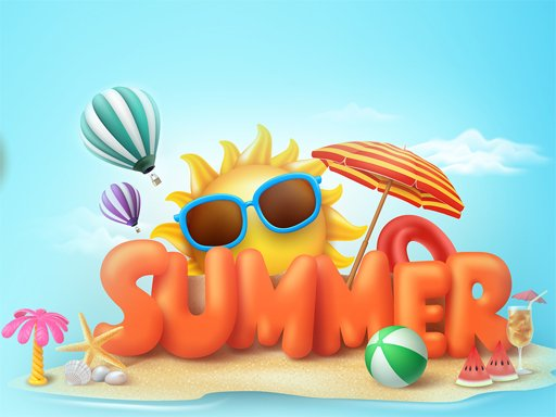 Play Happy Summer Jigsaw Puzzle Now!