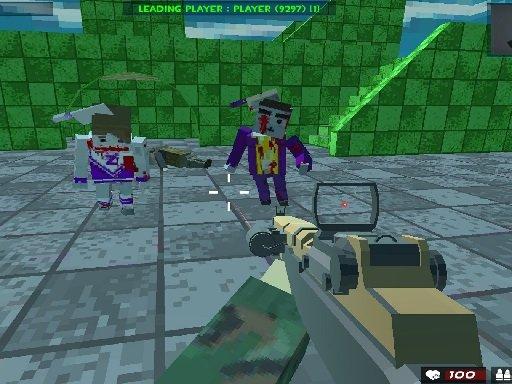 Play Survival Shooting Xtreme Crazy Pixel Combat Now!