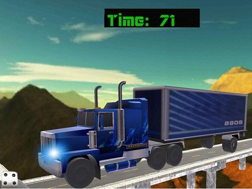 Play 18 Wheeler Impossible Stunt Now!