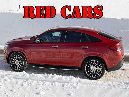 Play Red GLE Coupe Cars Puzzle Now!