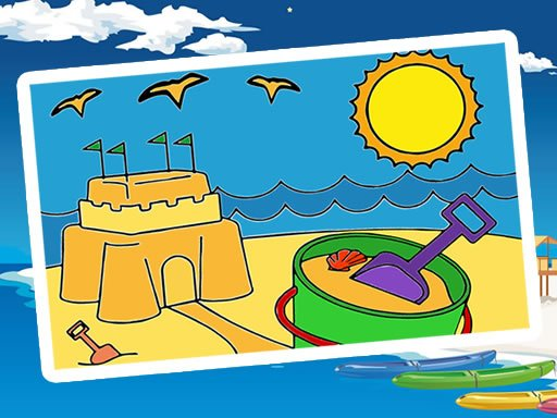 Play Summer Coloring Pages Now!