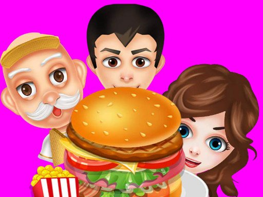Play Buger Cooking Food Shop	 Now!