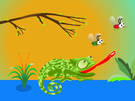 Play Hungry Chameleon Now!