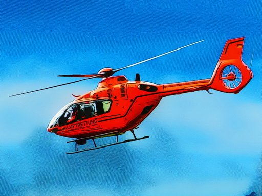 Play Helicopter Puzzle Now!