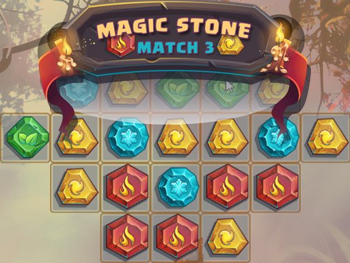 Play Magic Stone Match 3 Deluxe Now!