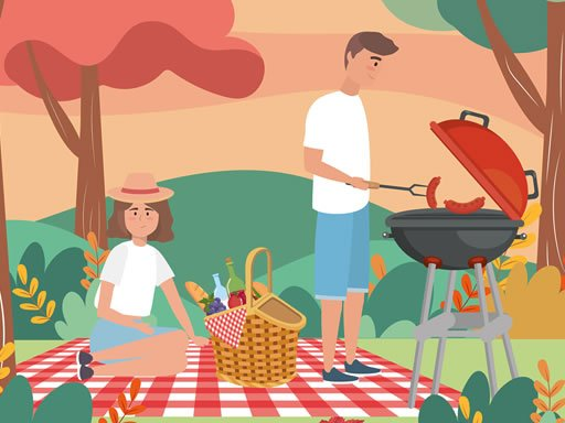Play Barbecue Picnic Hidden Objects Now!
