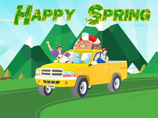 Play Happy Spring Jigsaw Puzzle Now!