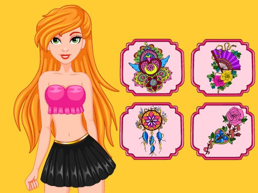 Play Princess Tattoo Artist Now!