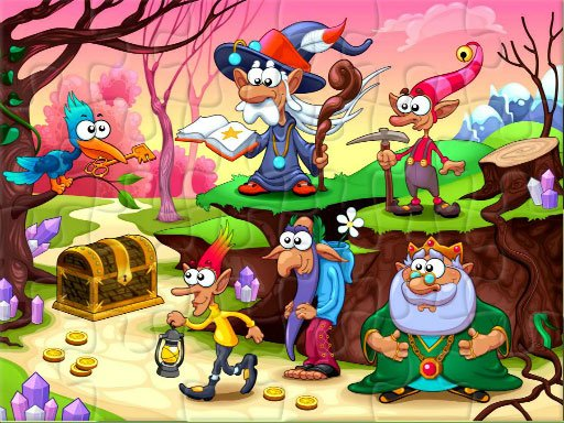 Play Fantasy Jigsaw Deluxe Now!