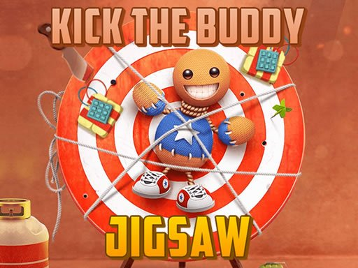 Play Kick the Buddy Jigsaw Now!