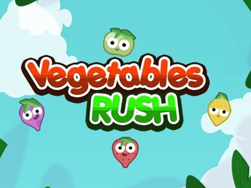 Play Vegetables Rush Now!