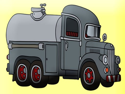 Play Tank Trucks Coloring Now!