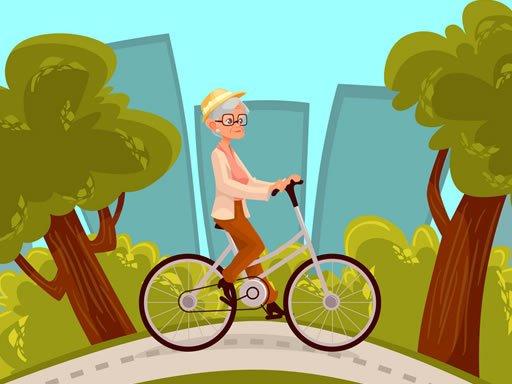 Play Happy Bike Riding Jigsaw Now!