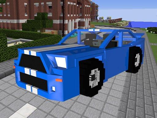 Play Minecraft Cars Hidden Keys Now!