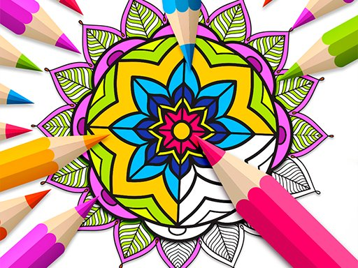 Play Mandala Coloring Book Now!