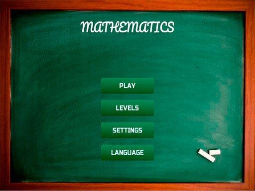 Play Mathematics Now!