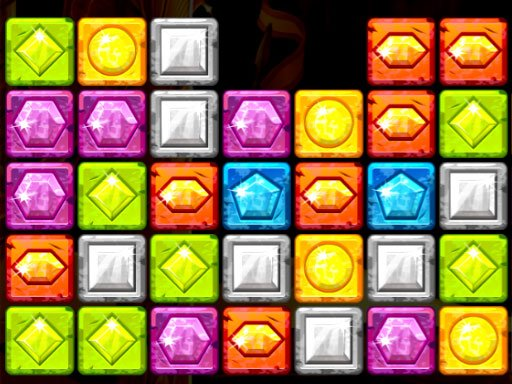 Play Gems Blocks Collapse Now!