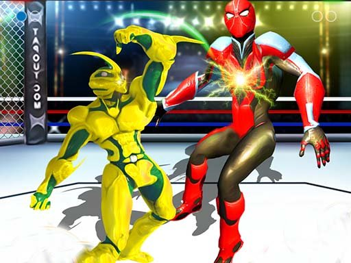 Play Robot Ring Fighting Wrestling Games Now!